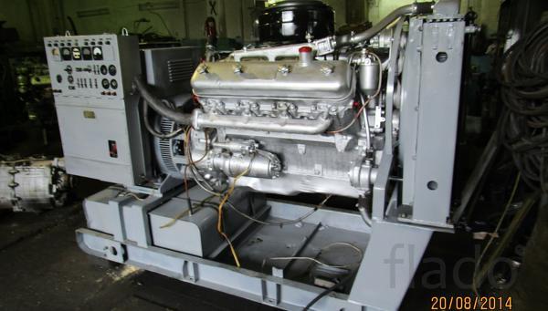 Дизель-генераторы (электростанции) от 8 до 500 кВт,  с хранения, без
