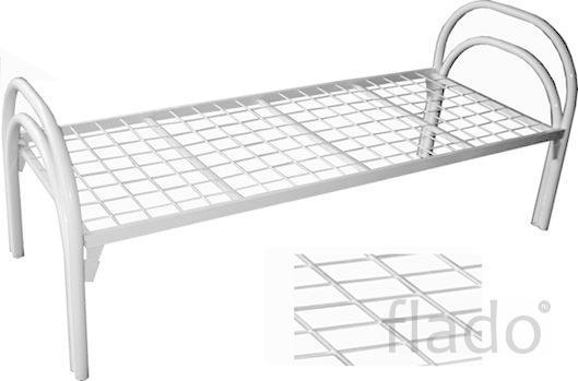 Кровать двухъярусная металлическая для общежитий