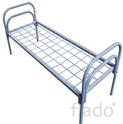 Кровать металлическая усиленная ГОСТ