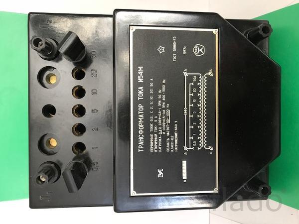 И54М, И515М/1, УТТ-5М, УТТ6М1, УТТ6М2 Трансформаторы тока