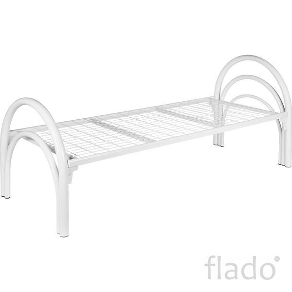 Кровати металлические со сварной сеткой ,металлические кровати эконоmf