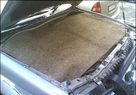 Войлок для утепления двигателя автомобиля