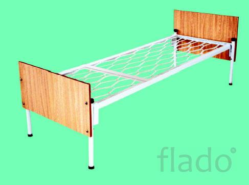 Кровати металлические для больницы Металлическая двухъярусная кровать