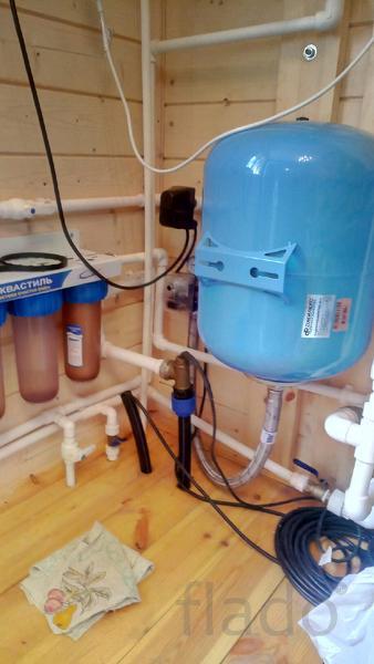 Отопление, водоснабжение частного дома - гарантия 5 лет.