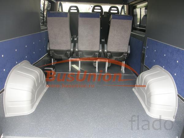 Накладки колёсных арок в микроавтобус Пежо Боксер, Фиат Дукато