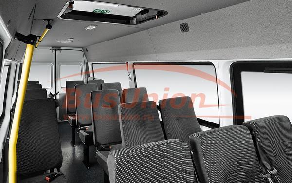 Чехлы на сиденья автобусов от БасЮнион