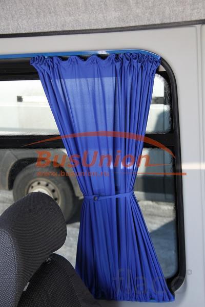 Шторки на микроавтобус Фиат Дукато БасЮнион