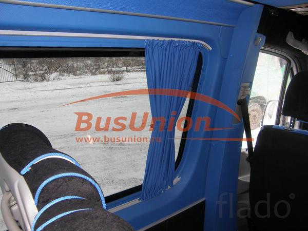 Шторки турецкого производства для микроавтобусов и автобусов БасЮнион