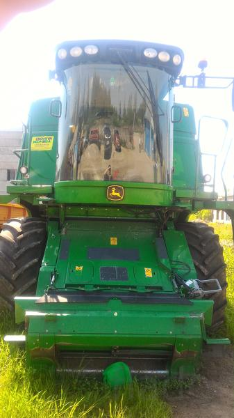 Зерноуборочный комбайн JOHN DEERE W 540 2013 года выпуска