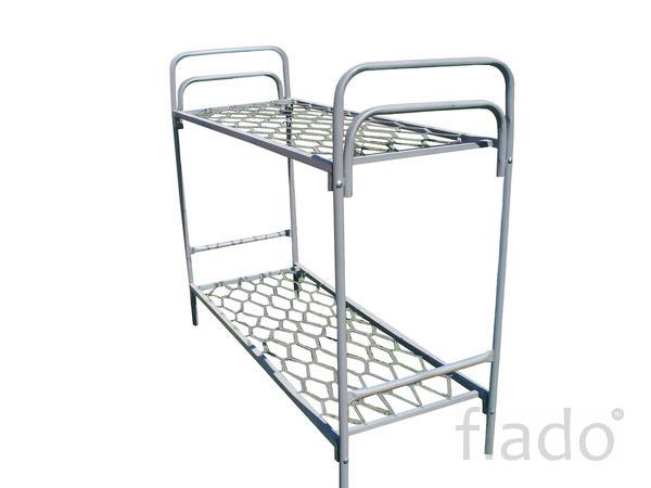 Кровать металлическая с матрасом кровати для рабочих