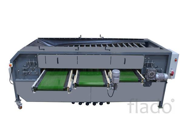 Оборудование для радиальной калибровки овощей и фруктов УКР-1.3Ф.