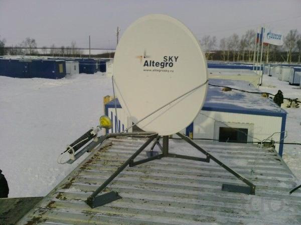 Комплект VSAT с антенной 1.2 м и HN 9260 (Ku диапазон)