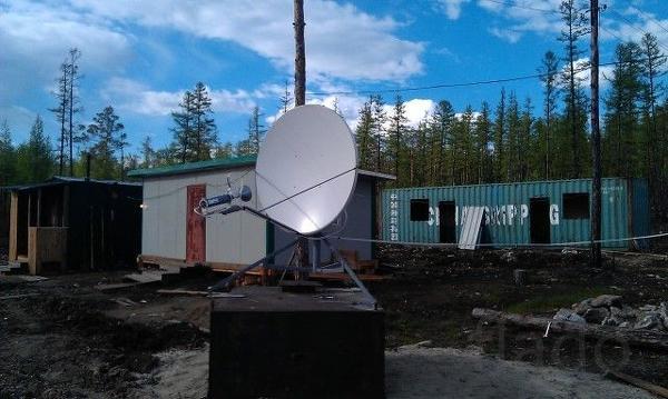Комплект VSAT c антенной 1.2 метра для доступа в Интернет