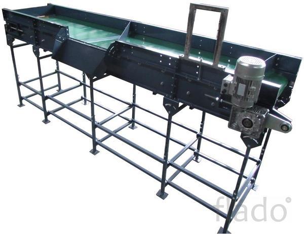 Горизонтальный ленточный конвейер для овощей УОГ-140/УСГ-1.40.
