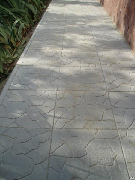 Тротуарная плитка для дачи 300 300 30 мм