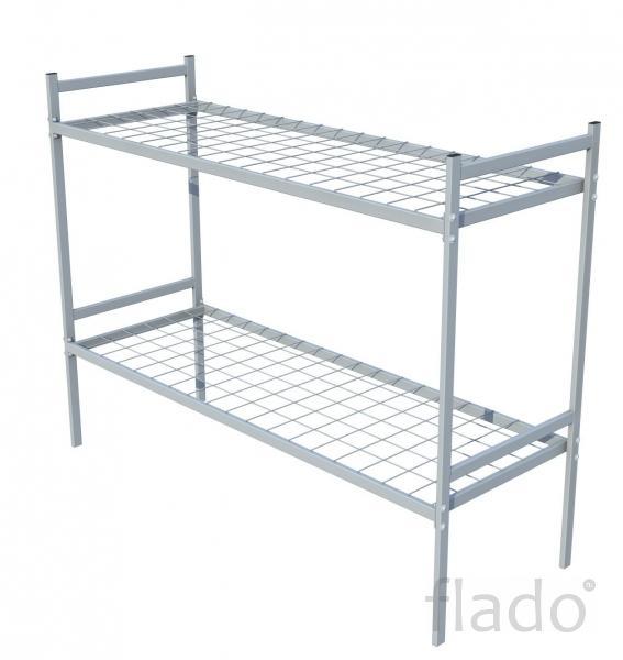 Металлические 2х ярусные кровати железные кровати