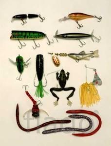 Сборка искусственных приманок для рыбной ловли