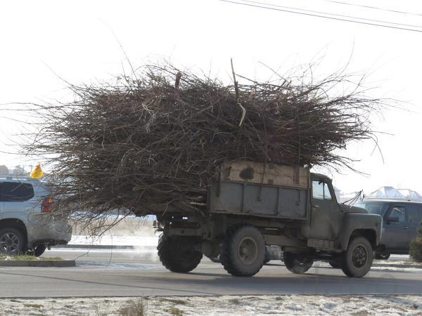Вывоз мусора - Зил самосвал в Омске