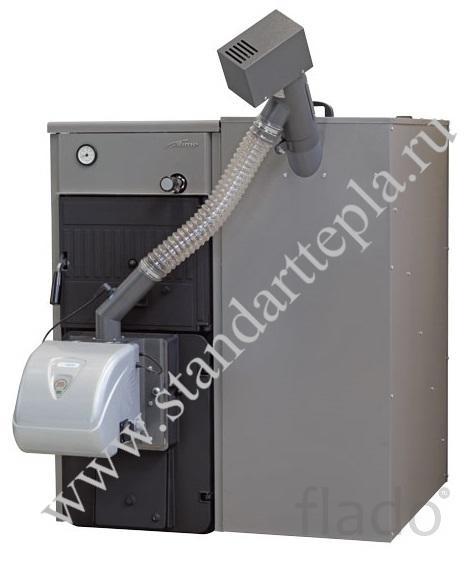 Пеллетный котел чугунный SIME Solida PL (Италия)  26-34кВт и 32-40кВт