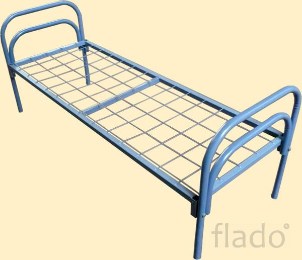 Кровати металлические для вагончиков, купить металлическую кровать