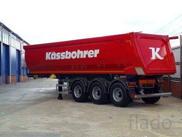 Самосвальный полуприцеп Kassbohrer 32 m3