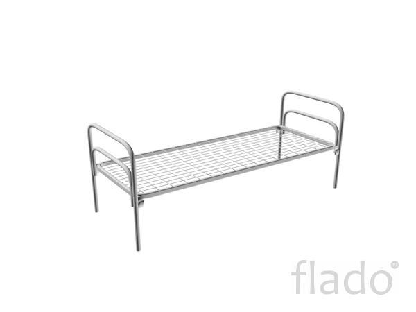 Кровати металлические эконом, армейские железные кровати оптом