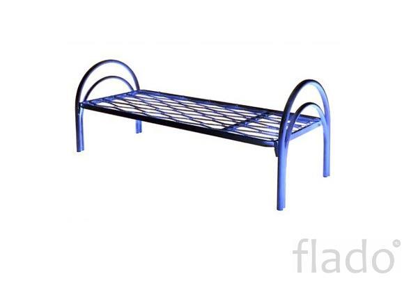 Производство металлических кроватей, кровати металлические для госпита