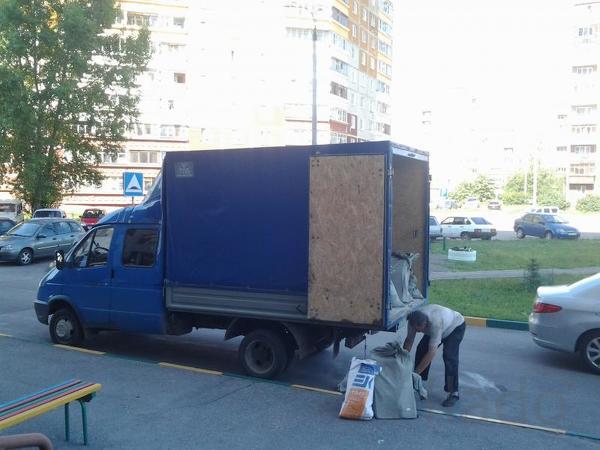 Вывоз мусора на городскую свалку Омска