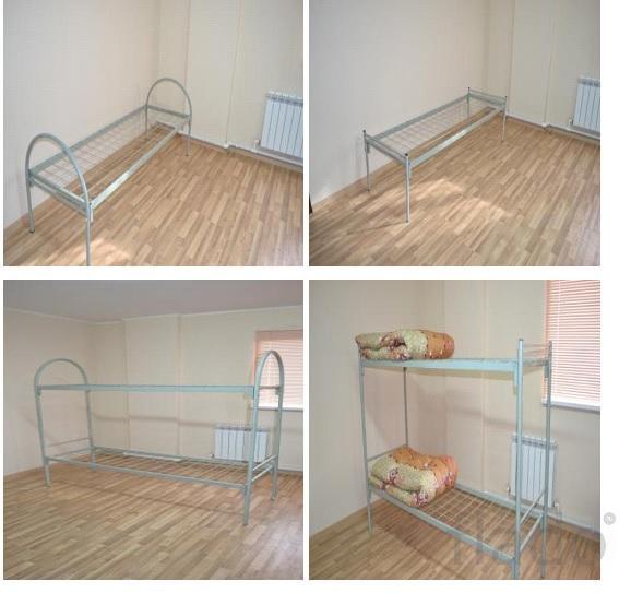 Кровати металлические для строителей оптом