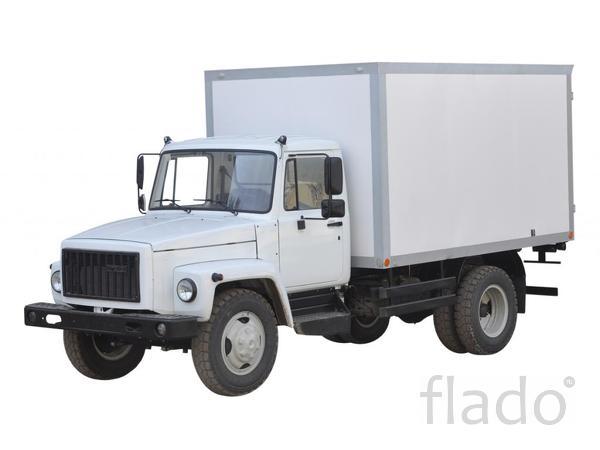Кузов в сборе на ГАЗ-3309