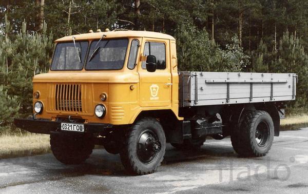 Продаем платформу с бортами на ГАЗ-66