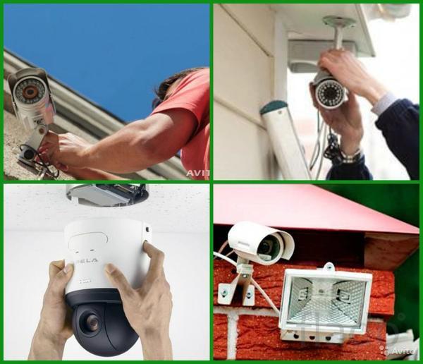 Камеры видеонаблюдения AHD, IP, TVI. Домофоны. Сигнализации