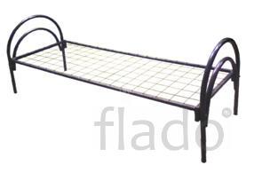 Кровать двухъярусная металлическая, кровать металлическая с матрасом