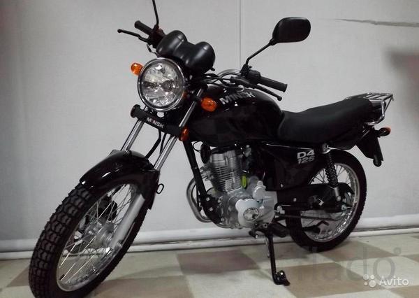 Мотоцикл Минск d4 125 M1NSK Беларусь Новый
