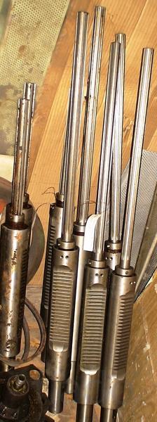 Шпиндель 2Н125 в сборе с пинолью и подшипниками
