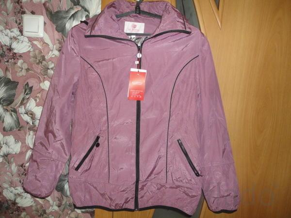 Курточка ветровка женская новая р 48-50