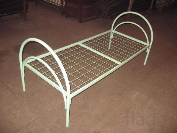 Кровати металлические для бытовок, металлические кровати недорого