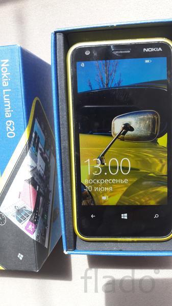 Nokia Lumia 620 Yellow