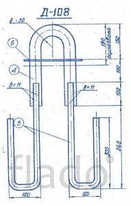 Закладные детали для железобетонных конструкций от компании ЮгПромМети