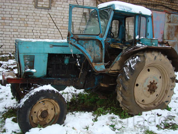 Трактор МТЗ-80 с документами (на запчасти), б/у