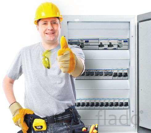 Электрические работы с гарантией 3 года