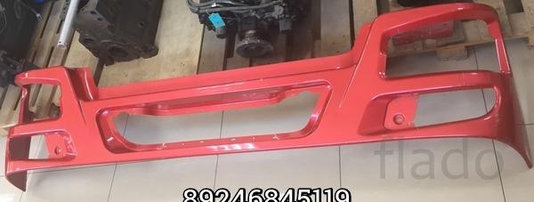 Бампер железный красный Евро 3 (нового образца) Howo WG1642241021