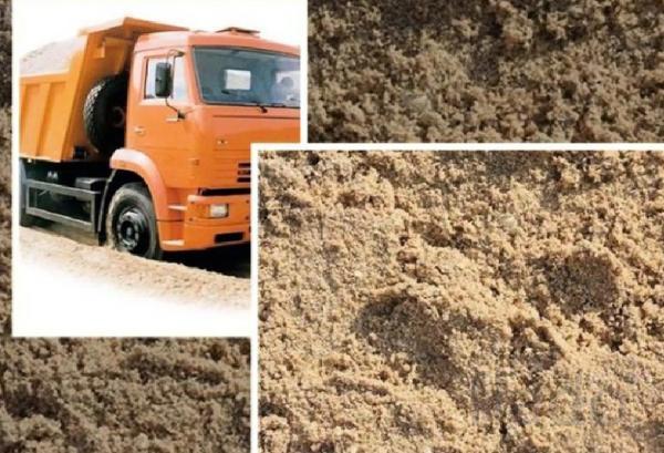 Купить песок речной и карьерный с доставкой