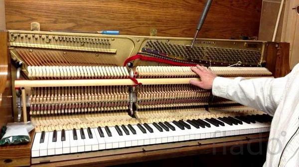 настройка, ремонт пианино (фортепиано),рояля