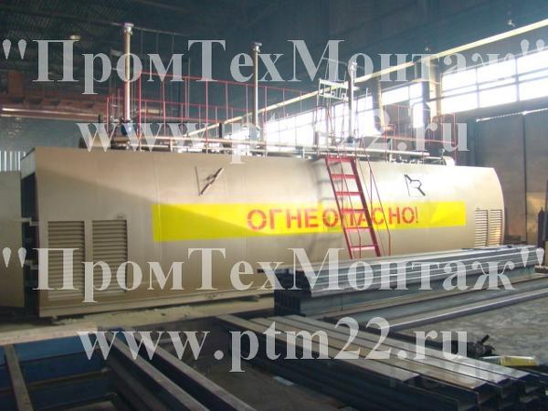 АЗС контейнерного типа, модульные АЗС, резервуары для нефтепродуктов
