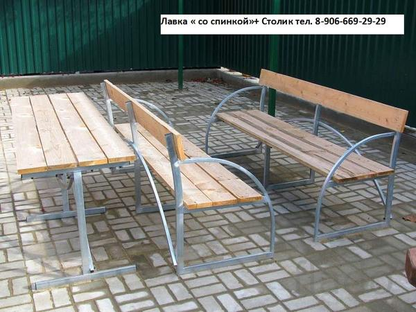 Скамейки и столики для дачи Ершов