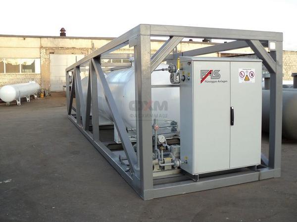 Установка газификации (установка автономного газоснабжения)
