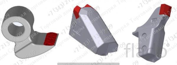 Зубья для мульчеров Delta