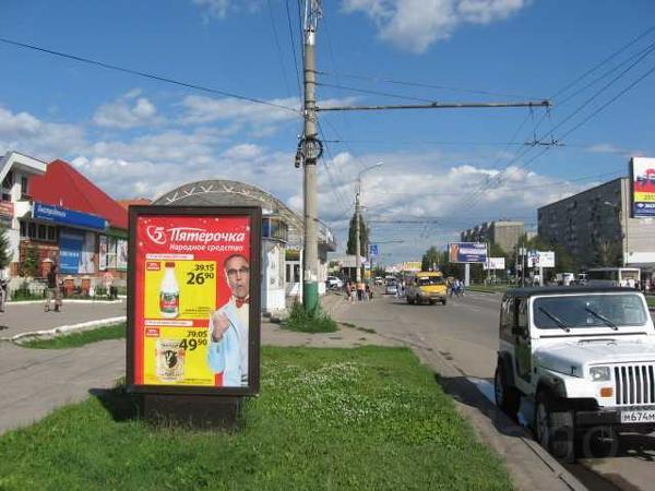 Реклама на остановочных павильонах и сити-форматах в г Пенза и г Зареч