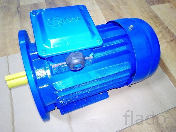 Электродвигатель Тип АИР 80 МВ 1.1 квт 930 об мин